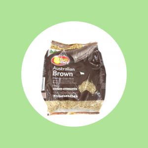 Sun Rice Brown Top Fruit Market